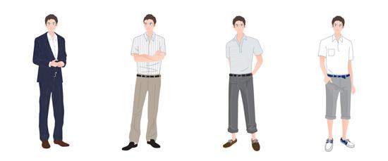 クールビズの服装スタイル